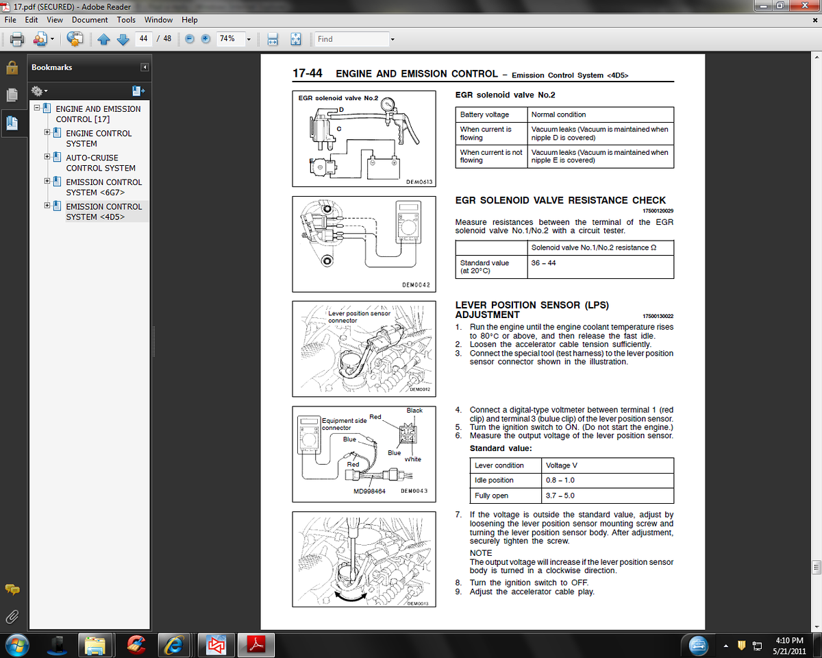 The Mitsubishi Pajero Owners Club View Topic Electrical Junior Wiring Diagram Manual In Section 17 44 It Shows And Tells How To Test But I Still Cant Find Harness Ill Take A Picture Of Tonight Post